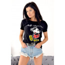 wholesale Children's and baby clothing: T-Shirt , Mickey , summer, black