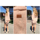 Sweater, cardigan,  quality, manufacturer, salmon