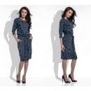 Großhandel Jeanswear: Kleid, Gürtel, Blumen, Qualität, Jeans