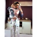 Großhandel Kinder- und Babybekleidung: Bomberjacke,  Mutter und Kind, powder pink