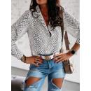 wholesale Shirts & Blouses: Shirt elegance, feminine, patterns, size 38-M