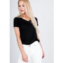 Großhandel Shirts & Tops: T-Shirt glatt, Qualität, Produzent, schwarz