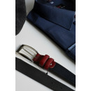 wholesale Belts: Strap, classic,  elegant, leather, dark blue