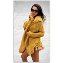 wholesale Fashion & Apparel: Sweater,  bedspread, yellow,  oversized, hit of ...