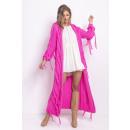 groothandel Kleding & Fashion: Gefranjerd vest, DE LUX, hoge kwaliteit, roze