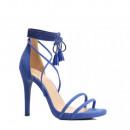ingrosso Ingrosso Abbigliamento & Accessori: calzature stiletti tacco annodato blu