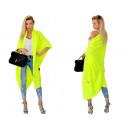 Großhandel Pullover & Sweatshirts: Langer Pullover, Mantel, Tagesdecke, gelb, ...