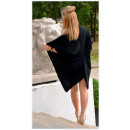 Sweater, bedspread, black, oversize, hit of the se