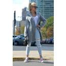 groothandel Kleding & Fashion: Dikke trui vest knoppen producent grijs