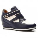 BLUE SHOES sneakers TRAMPKI WOMEN