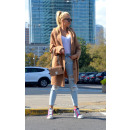 wholesale Fashion & Apparel: Thick sweater cardigan buttons camel