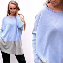 wholesale Fashion & Apparel: Sweater, wide,  pockets, quality, blue