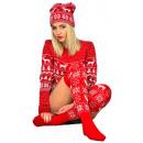 Großhandel Strümpfe & Socken:Weihnachtsgeschenkso cken mit rotem Geschenkherstel