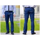 ingrosso Pantaloni: Pantaloni NAVY  bianco elegante, produttore polacco