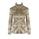 groothandel Kleding & Fashion: Metallic jas, jas, romige