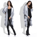 wholesale Fashion & Apparel: cardigan, sweater,  warm, long, quality, gray