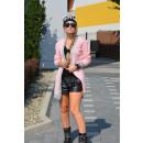 Strickjacke, Pullover, Strickjacke, pink