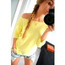 Großhandel Hemden & Blusen: Gebundene Bluse, Qualität, Produzent, gelb