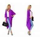 Großhandel Pullover & Sweatshirts: Langer Pullover, Mantel, Tagesdecke, lila, ...