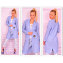 wholesale Fashion & Mode: Sweater, coat  pockets, badge, blue uni