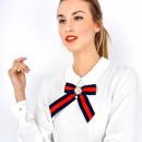 groothandel Kleding & Fashion: Blouse, shirt, sier broche, wit