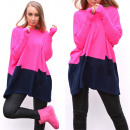wholesale Fashion & Apparel: Sweater, wide,  pockets, quality, pink
