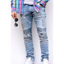 ingrosso Jeans:Pantaloni chiari JEANS