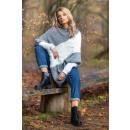 Großhandel Pullover & Sweatshirts: Poncho DE LUX, Produzent, grau