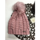 wholesale Headgear: Braided cap,  tassel, producer, pink