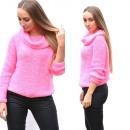 wholesale Fashion & Apparel: Sweater, golf, warm, fat, pink