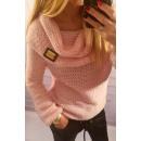 Großhandel Fashion & Accessoires: Pullover, weich,  Qualität, Gold Abzeichen, Rosen,