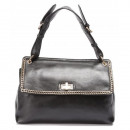 Handbag, clutch,  chain, quality, black