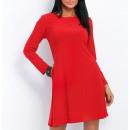 Abbigliamento casual, classico, qualità, rosso