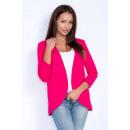 Großhandel Fashion & Accessoires: Cape Sweatshirt,  Strickjacke, uni, Amaranth