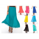 wholesale Skirts: Long skirt,  pleated, airy, unisize