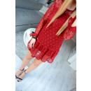 ingrosso Ingrosso Abbigliamento & Accessori: Tunica mini abito, pizzi, uni, marrone