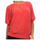 Großhandel Hemden & Blusen: Bluse Koralle,  Fledermaus, vollen Größen