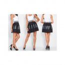 Großhandel Röcke: Rock mit einem Pepitka-Streifen, unisize