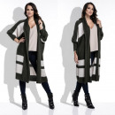 wholesale Fashion & Apparel: cardigan, sweater,  warm, long, quality, olive