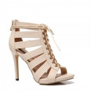 wholesale Shoes: Shoes footwear  heel stilettos summer knotted beige