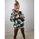Großhandel Pullover & Sweatshirts: Bunter TIE DYE Hoodie, Qualität, Modell 3