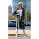 wholesale Fashion & Apparel: Sweater long coat cardigan braids, khaki