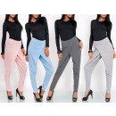wholesale Trousers: Baggy pants,  loose, uni, quality, gray