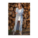 wholesale Pullover & Sweatshirts: Fringed cardigan, DE LUX, high quality, gray