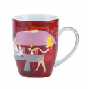 Porcelain mug 400ml.