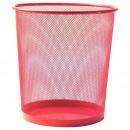groothandel Huishoudwaren: MESH prullenbak L 35cm Pink