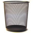 groothandel Huishoudwaren: MESH prullenbak L 35cm Black