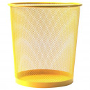 grossiste Articles ménagers: Poubelle MESH L 35cm jaune