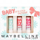 "BOX TRIO BABY LIPS CD rescure ""BABY IT'S COLD"