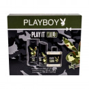 grossiste Autre: COFFRET PLAYBOY PLAY IT WILD FOR HIM